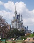 Cinderella Castle at Walt Disney World in Florida