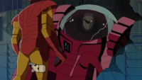 Crimson Dynamo is stopped