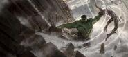 Hulk vs Chitauri Concept Art