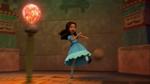 Isabel kicks olaball