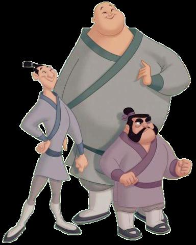 Yao, Ling e Chien Po