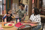 Raven's Home - 1x04 - The Bearer of Dad News - Photography - Nia, Booker and Raven