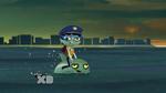 Sashi Zombie and Zombie Dolphin