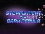 Stormy Night in a Dark Nebula