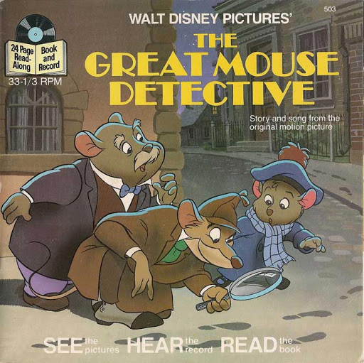 The Great Mouse Detective (Disney Read-Along)