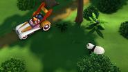 Animal antics mickey and the panda