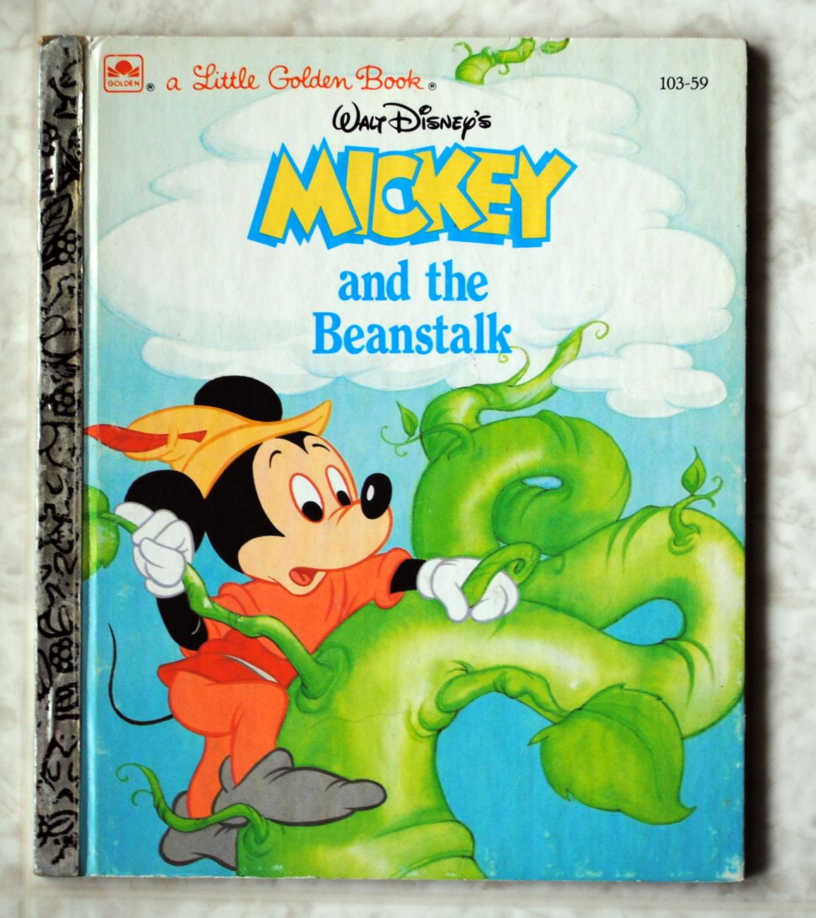 Mickey e o Pé de Feijão (Little Golden Book)
