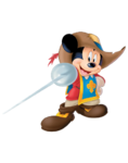 Mickey Mouse Musketeer