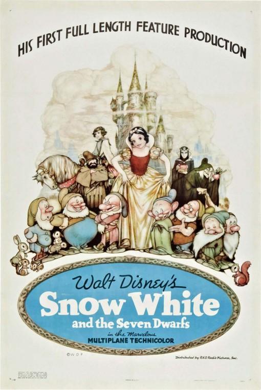 Material Promocional de Branca de Neve