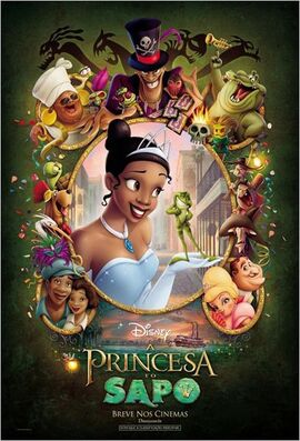 A Princesa e o Sapo - Pôster Nacional.jpg
