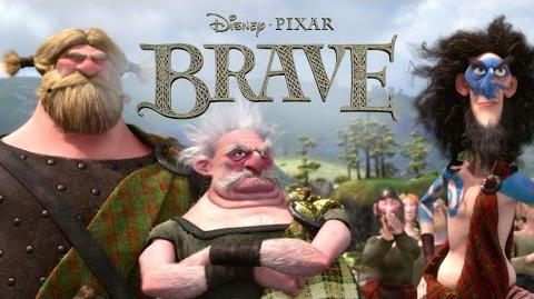 Brave Dirty Hairy People Disney Pixar