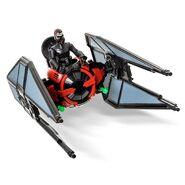 Tie Fighter and Kylo Ren - Disney Toy Box Vehicle