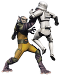 Zeb vs. Stormtrooper