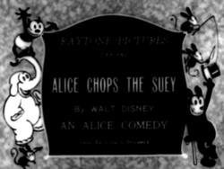 Alice Chops the Suey