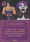 DVG A Cruel Irony