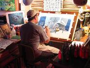 Dad paints lullabye 2