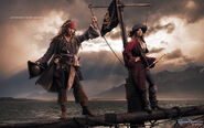 Disney Dream Portrait Series - Pirates - ..And Adventures Become Legendary