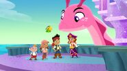 Jake&crew with Pirate Princess &Cecilia-Trading Treasures