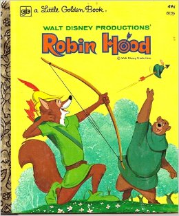 Robin Hood (1973 Little Golden Book)