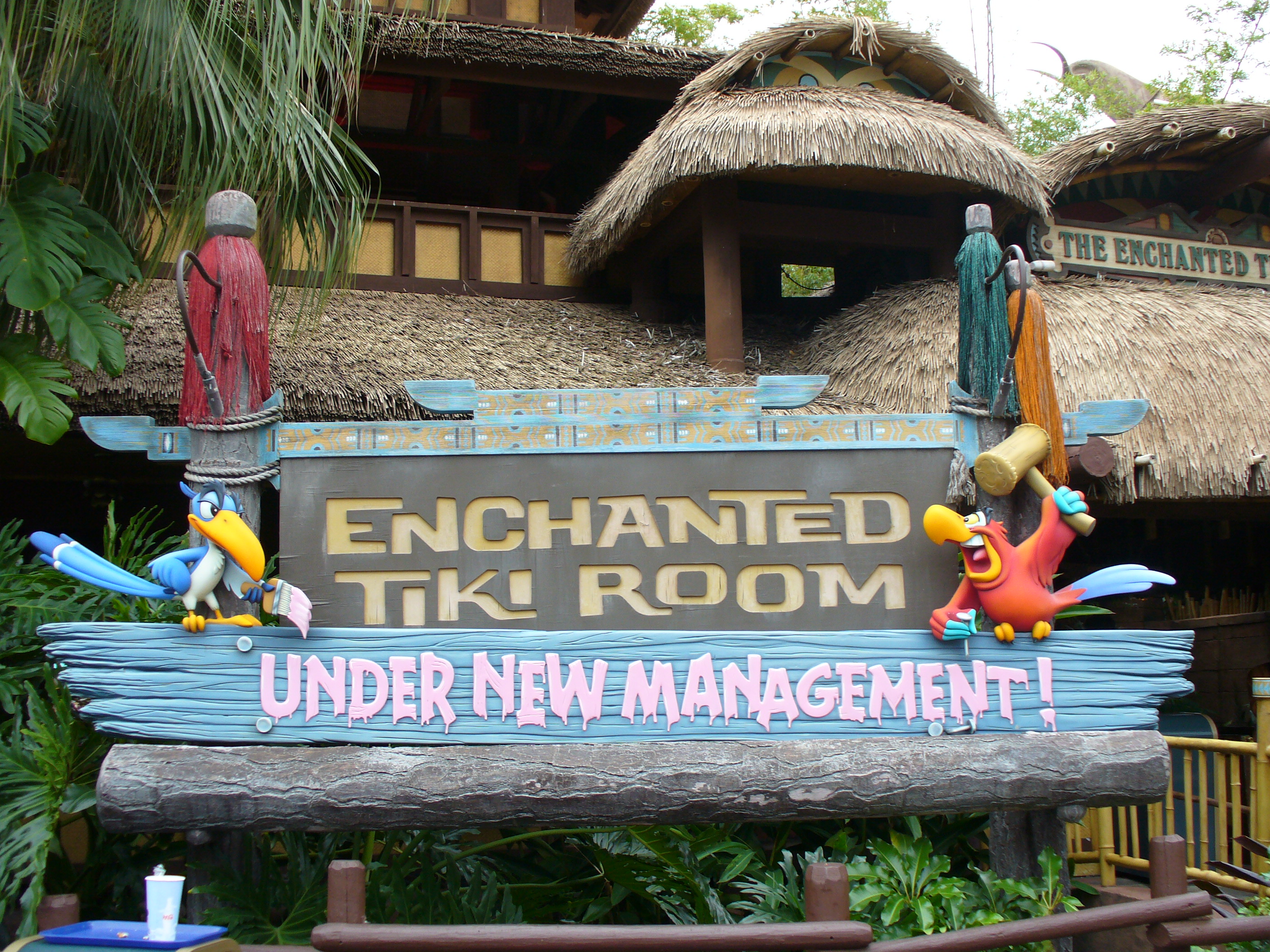 The Enchanted Tiki Room (Under New Management)