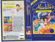 Aladdin - tesouros da perdição vhs dublado
