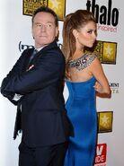 Bryan Cranston Melissa Rauch Critics Choice Awards