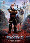 Kristoff and Sven Frozen II Poster