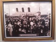SS Columbia Dedication