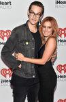 Ashley Tisdale & Chris French at IHeart Radio Fest
