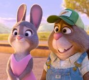 Bonnie and Stu Zootopua