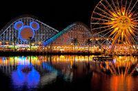 California Screamin at night