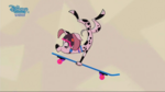 Dolly Skate Board JumpDL