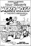 Mickey's mechanical man poster