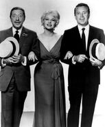 Peggy Lee Harold Arlen Vic Damone 1961