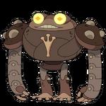 Amphibia Robot render
