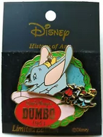 Dumbo and Crows pin2