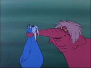 Merlino tricheco e Magò elefante