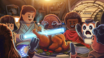 Resistance - The LEGO Star Wars Holiday Special Concept Art