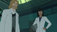 Spider-Man - 3x05 - Generations - Curt Connors and Maria Corazon
