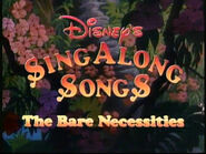 The Bare Necessities 1987 closing title