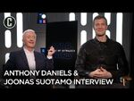 The Rise of Skywalker- Anthony Daniels and Joonas Suotamo Interview
