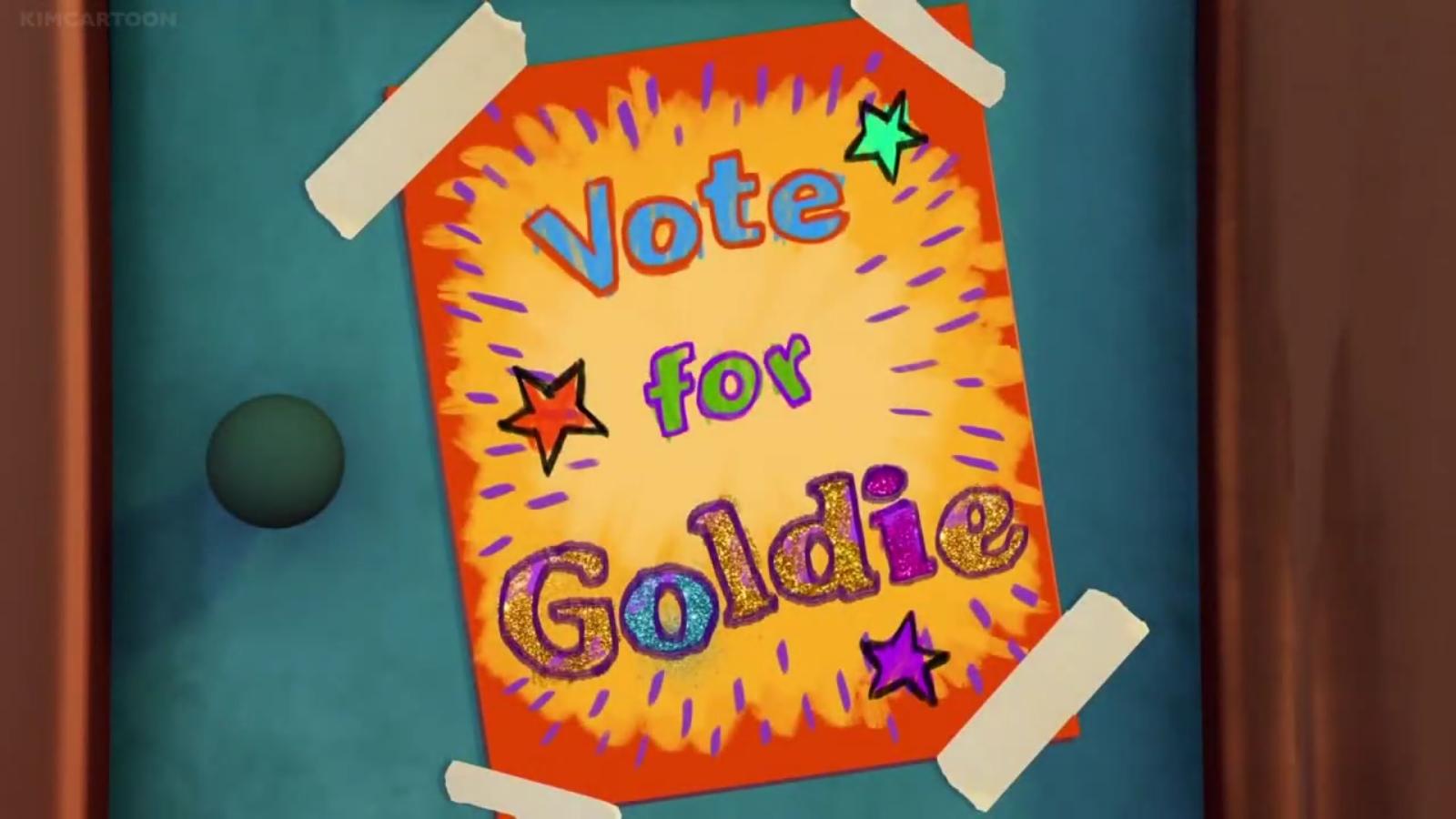 Vote for Goldie!