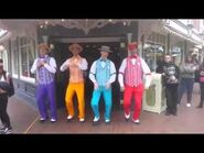 Disneyland Dapper Dans debut new Richard Sherman song