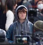 Harry Holland on Spider-Man 3 Set