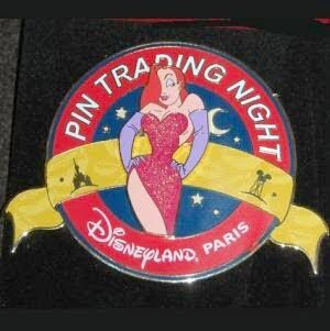 Jessica Rabbit Trading Pin