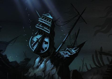 El Barco Hundido (La Sirenita)