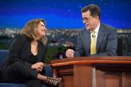 Cristela Alonzo visits Stephen Colbert