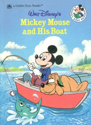 Mickey Mouse and His Boat