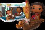 Moana and Pua on Boat POP