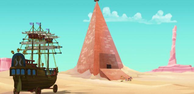 Pirate Pyramid